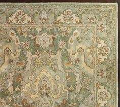 Reading room Thyme Persian-Style Rug | Pottery Barn