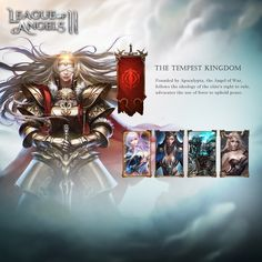 """League of Angels II, GTArcade's upcoming fantasy MMORPG, is shaping up to take the genre by storm. Under development for 2 years with team of veteran game developers, League of Angels II is ready to show the world that""""The Angels have Transcended. League Of Angels, Fantasy Characters, Fictional Characters, Strategy Games, Angel Art, Fantasy Character Design, Mobile Game, Free Games, Third"""