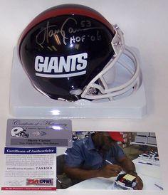 40c7ed2a9 Harry Carson Autographed Hand Signed NY New York Giants Mini Helmet -  PSA DNA