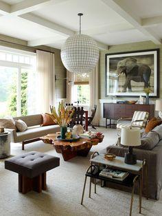 Uma linda casa em Bridgehampton NY por Kevin Dumais