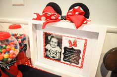 """Photo 1 of 31: Minnie Mouse / Birthday """"Genevieve's Modern Minnie Mouse Party""""   Catch My Party"""