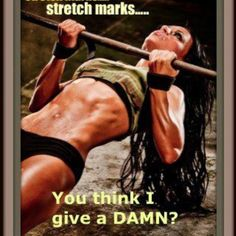 Stretch marks ..Serious inspiration right here. Anytime I feel defeated bc of these 'kisses' I shall look at this.