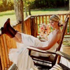 Country bride