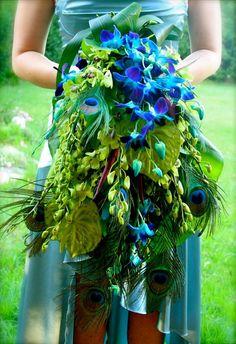 Peacock fashion - amazing!