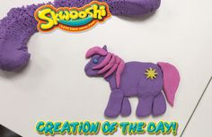 Skwooshi Creation of the Day #pony #art #mold #sculpture #sculpt #mylittlepony  Join the fun on Facebook for exclusive giveaways https://www.facebook.com/Skwooshi