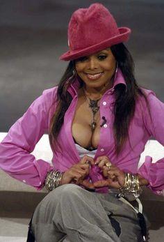 Janet ... Love the Fushia Hat