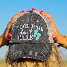 pool hair hat