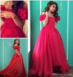 2016 Arabic High Low 1950s Prom Evening Dresses A Line Off Shoulder Puff Sleeves Plus Size Middle East Dubai Long Formal Party Gowns 2016 Prom Dresses Dresses Party Evening Short Prom Dresses Online with $198.86/Piece on In_marry's Store | DHgate.com
