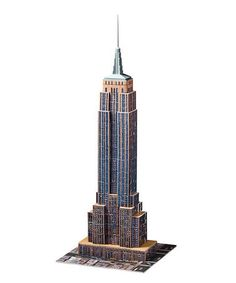 Look at this #zulilyfind! Empire State Building 3-D Puzzle #zulilyfinds