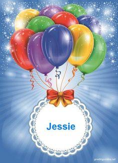 Happy Birthday Jessie