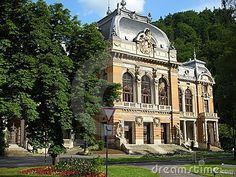 Lazne (spa/health centre) number one, or Emperor's, in Karlovy Vary, Czech Republic.