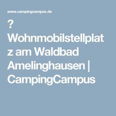 ᐅ Wohnmobilstellplatz am Waldbad Amelinghausen   CampingCampus