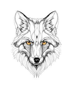 fox graphic art