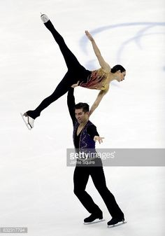 Deanna Stellato-Dudek and Nathan Bartholomay compete in the... News Photo | Getty Images