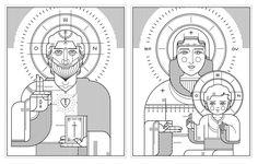 Orthodox Icons, Ryan Clark