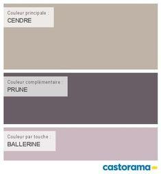 Lits en palette : Castorama Nuancier Peinture Mon harmonie Peinture Collection CENDRE satin de COLORS