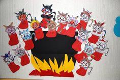 Výsledek obrázku pro náměty do vv San Antoni, Diy And Crafts, Arts And Crafts, Christmas Crafts For Kids, Winter Time, Diy For Kids, Baby Knitting, Moose Art, Halloween