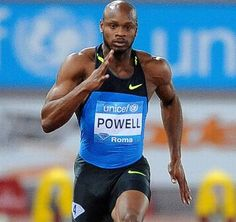 Asafa Powell held the 100 m world record between June 2005 and May 2008, with times of 9.77 and 9.74 seconds respectively. Powell has consistently broken the 10-second barrier in competition, with his personal best of 9.72 s being the fifth fastest time in the history of the event. As of October 2012, Powell has broken the ten-second barrier legally more times than anyone else – 81 times.