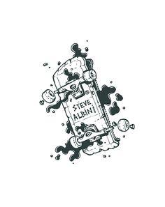 The Daily Skate Board Skate Art, Cool Sketches, Skateboard Art, Stippling, S Tattoo, Skateboards, Tee Design, Illustrations, Caricature