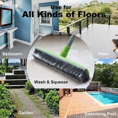 Do you struggle with pet hair all over your house? Our Pet Hair Broom easily rem. Do you struggle Garden Swimming Pool, Swimming Pools, Rubber Broom, Broom Handle, Pet Hair Removal, Window Cleaner, Cleaning Hacks, Daily Cleaning, Car Cleaning