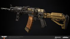 ArtStation - Call of Duty: Black Ops 4 - Caleb Turner Sci Fi Weapons, Weapon Concept Art, Fantasy Weapons, Weapons Guns, Homemade Weapons, Future Weapons, Black Ops 4, Military Insignia, Call Of Duty Black