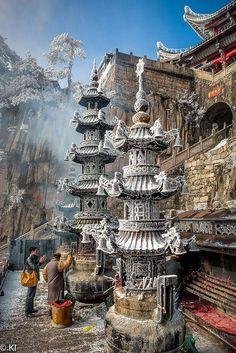 Templo budista en China