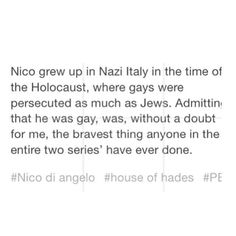 ... adorable as an au, but Nico left for the Lotus Hotel at the very begining of WWII, and therefore never witnessed the holocaust...
