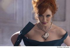 Mad Men Star Christina Hendricks The New Face of Vivienne Westwood