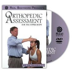 Click to get Orthopedic Assessment for the Upper Body. Learn classic assessment techniques for the neck, shoulder and elbow. Lavishly produced and filled with beautiful 3-D animations that show exactly which structures are involved. DVD's on special till July 31, 2012 Enter Coupon code JulyDVD when you check out to get 25% off when you buy any 2 titles... Just $62.09