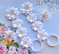 Фотография Afghan Dresses, Good Morning Flowers, Ribbon Hair, Girls Bows, Hair Ties, Flowers In Hair, Headpiece, Hair Accessories, Crochet
