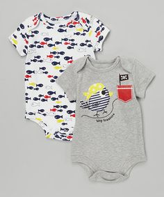 This  Tiny Treasure   amp  Fish Bodysuit Set - Infant by Baby Starters is 2a98c68eb