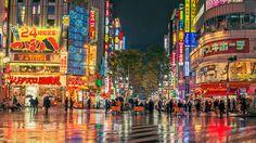 Картинки по запросу tokyo street night