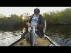 Fishing Slug-Gos for stripers on the Housatonic - YouTube