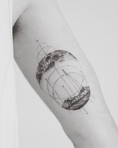 Moon and landscape piece for Matt Variety Magazine, Alien Planet, Word Tattoos, Documentaries, Moon, Ink, Paragraph, Landscape, Tattoos