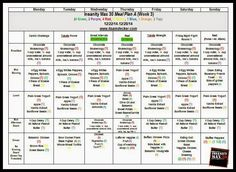 Week 2 Insanity Max 30, Insanity Max 30, Tabata Workout,  2015 online Health and Fitness  Groups, Insanity Max 30 Meal Plan, 21 Day Fix Meal Plan