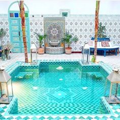 Morning views from #Morocco at Riad BE Marrakech. Travel Well #TravelFly. #TravelFlyHotels