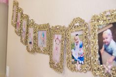 Miss Mila's First Birthday Party! Pink & Gold Twinkle Twinkle Little Star Theme