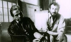 Francis Bacon and Michael Peppiatt in Paris