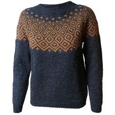 Søster Fie Icelandic Sweaters, Fair Isle Pattern, Knitwear Fashion, Knitting Patterns, Free Knitting, Fair Isle Knitting, How To Purl Knit, Knit Jacket, Ravelry