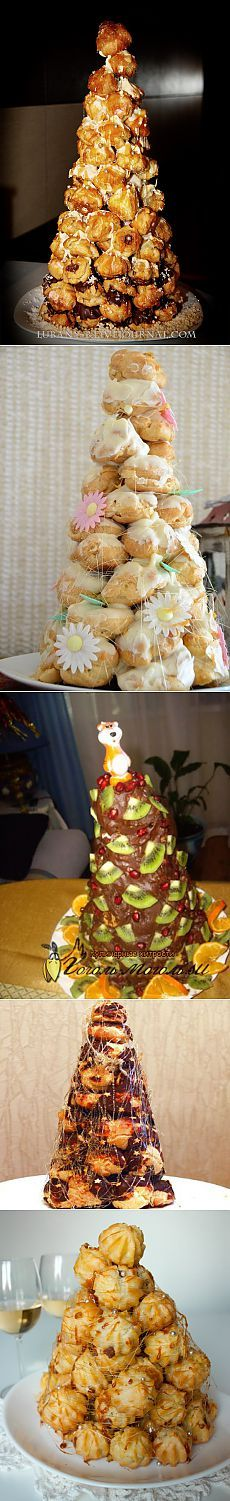 """КРОКЕНБУШ""+3 CAKE OF THE TYPE OF CREAM TO IT. OPTIONS OF ORNAMENT AND STUFFING."