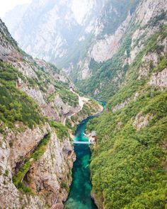 Piva Canyon, Montenegro