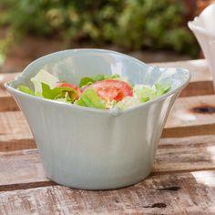italian ceramic salad bowl.