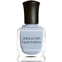 Deborah Lippmann Nail Color, Blue Orchid 0.5 oz (15 ml) found on Polyvore