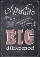Attitude is a little thing… Inspire U Poster by Creative Teaching Press. NEW Inspirational posters Motivational Quotes For Students, Inspirational Posters, Motivational Posters, Quotes For Kids, Classroom Quotes, Classroom Posters, Classroom Decor, Teaching Posters, Classroom Organization