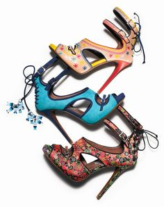 Tabitha Simmons Ankle-Strap Sandals. (all of them)