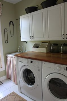 Laundry Room U2013 Countertop Installation! | Once Upon Our Home