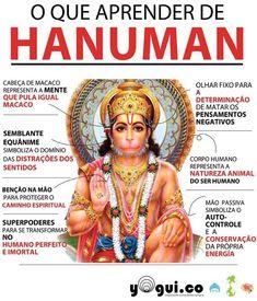 Coração em Luz: Lord Hanuman, o Deus Macaco