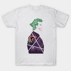 One Bad Day T-Shirt - Joker T-Shirt is $13 today at TeePublic! Joker Origin, Joker T Shirt, Batman Stuff, Bad Day, Dc Comics, Mens Tops, Shirts, Design, Fashion