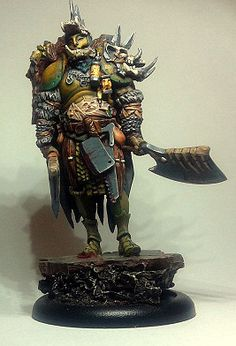 Butcher painted by Gakka