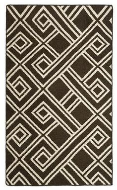 Dose of Design: Love it! - African pattern dhurrie rug